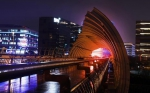 上海虹桥商务区夜色 - 中国甘肃网