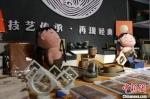 图为临洮县马家窑文创产品展示。 张婧 摄 - 甘肃新闻