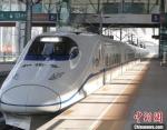 10月14日,经过为期8天的试验,西银客专甘宁段最后一段庆城至宁县段圆满完成单列、重联逐级提速试验。 段文超 摄 - 甘肃新闻