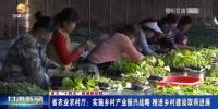 【短视频】甘肃省农业农村厅:实施乡村产业振兴战略 推进乡村建设取得进展 - 甘肃省广播电影电视